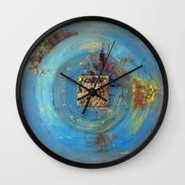 Of the Earth 4 by Nadia J Art Wall Clock