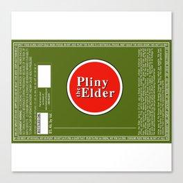 Pliny the Elder Canvas Print