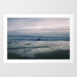 Ocean Surf II Art Print