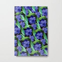 blueberries 2 Metal Print