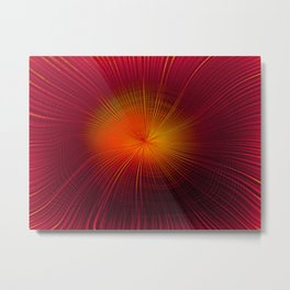 Explosive Vibrations Metal Print