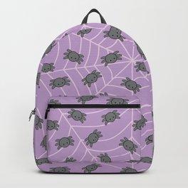 Pastel goth kawaii spiders purple Backpack