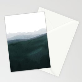 mountain horizon 3 Stationery Cards