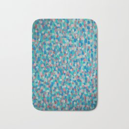 Vibration of drops Bath Mat