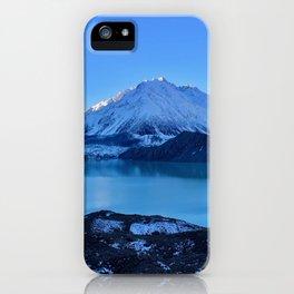 Tasman Glacier Valley iPhone Case