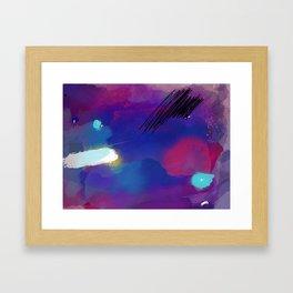 Woke Fire Framed Art Print