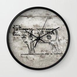 BW Cash Cow Wall Clock