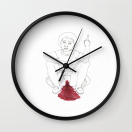 period angst Wall Clock