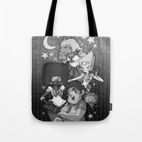 sailormoon Tote Bags featuring SU SailorMoon by Ravenno