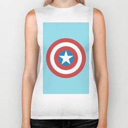 Captain of America Biker Tank
