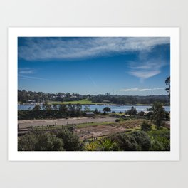 Cockatoo Island Landscape Art Print