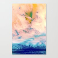 outer space Canvas Prints featuring OUTER SPACE by u t a