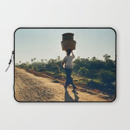 Lonely Burmese Farmer Laptop Sleeve