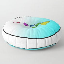 Hawaii Floor Pillow