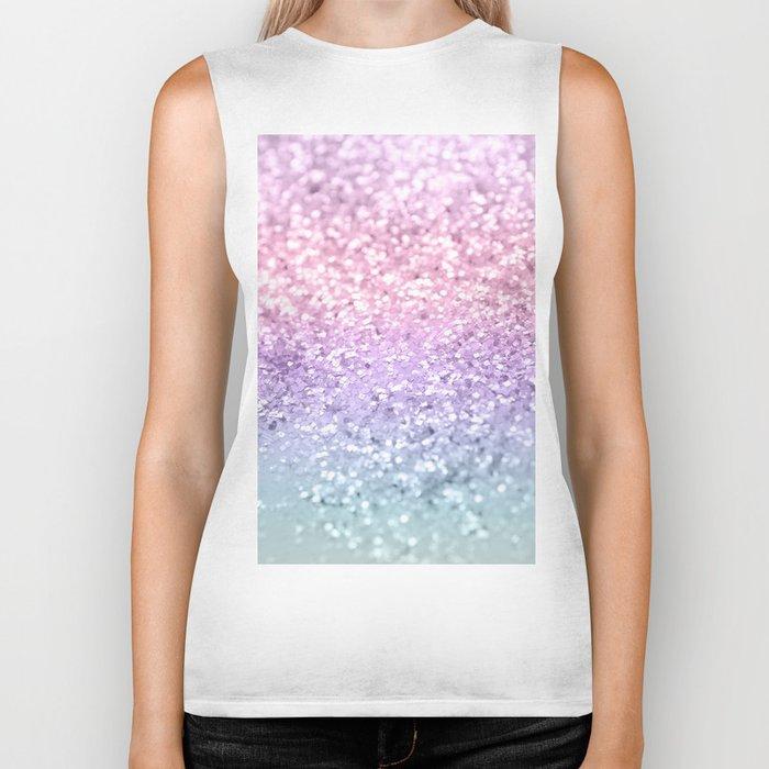 Unicorn Girls Glitter #1 #shiny #pastel #decor #art #society6 Biker Tank