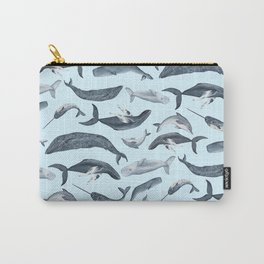 whale tales Carry-All Pouch