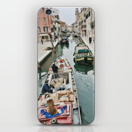 Canals of Venice I iPhone Skin