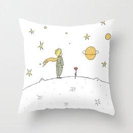 Little Prince II Throw Pillow