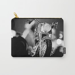 Motorbike-B&W Carry-All Pouch