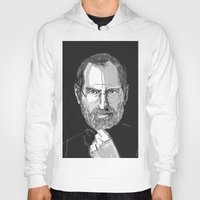 steve jobs Hoodies featuring Steve Jobs by 1and9
