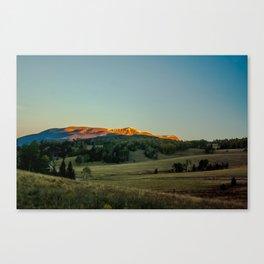 Waking Peak Canvas Print