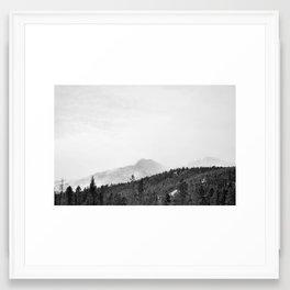 Peak I Framed Art Print