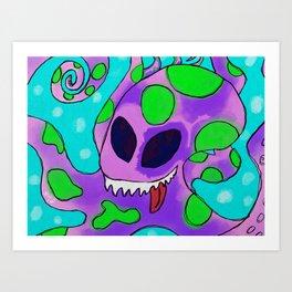 Krakenlackin Art Print