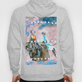 The Lovers In Pink Hoody