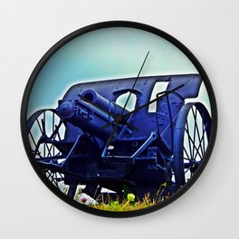 Antique Cannon HD Wall Clock