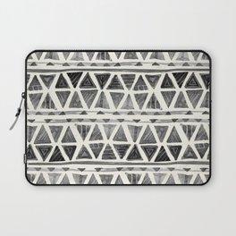 Tribal Geometric Chevron Stripes Laptop Sleeve
