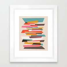 Fragments VII Framed Art Print