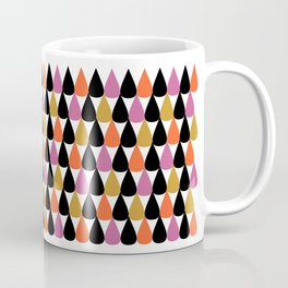 Stylish colorful drop pattern Coffee Mug