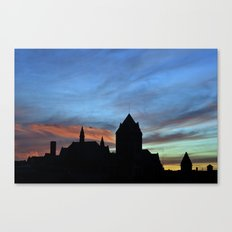 Sunsets and Silhouettes Canvas Print