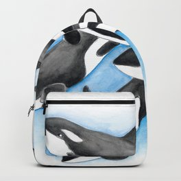 Orca Whales Pod Backpack