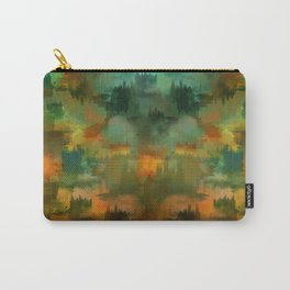 """""""Abstract forest in Autumn"""" Carry-All Pouch"""