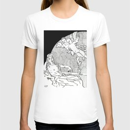Reclining Figure with Cherubs 1 T-shirt