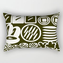 Jubako No3 Monochrome Rectangular Pillow