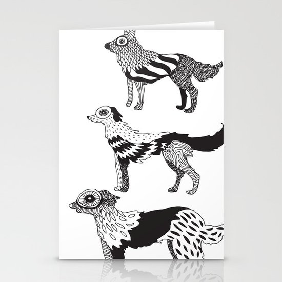 Andersen dogs Stationery Cards