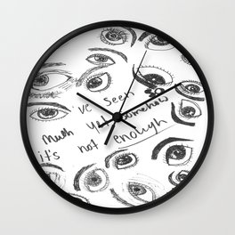 Neverending Thirst  Wall Clock
