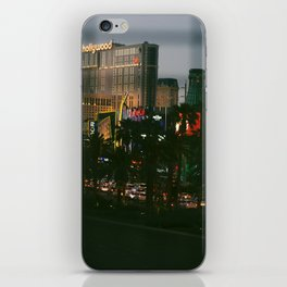 lasss vegaass iPhone Skin