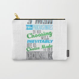 Procrastination Carry-All Pouch