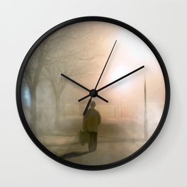 Finding The Way Home - Galway - Ireland Wall Clock