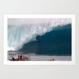 Hawaii's Reef Mcintosh C L O U D B R E A K  2012 Art Print