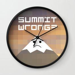 summit wrong? Wall Clock