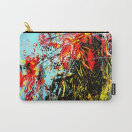 Floreal Abstraction Carry-All Pouch