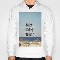 faith Hoodies featuring Faith by KimberosePhotography