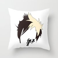 jack Throw Pillows featuring Jack by bananadeaf