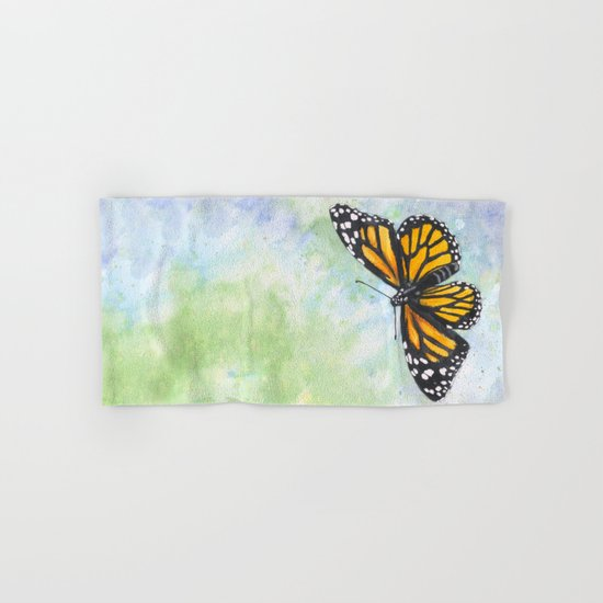 Monarch Butterfly Hand & Bath Towel