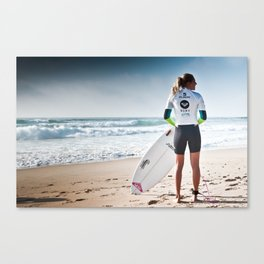 Stephanie Gilmore, Hossegor, France, 2013 Canvas Print