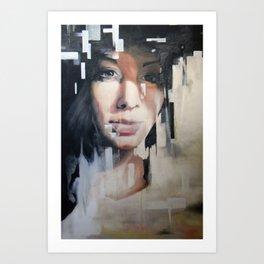 Looking Through Art Print